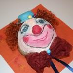 """Liebevolle und einzigartige Clownsmasken selber hergestellt extra für unsere """"Fuesnicht"""" von Annemarie Frank und Inge-Marie Dengel! Ein Hingucker!"""